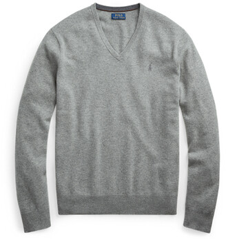 Ralph Lauren Merino Wool V-Neck Jumper