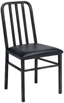 Acme Jodie Side Dining Chair (Set of 2) - Rustic Oak and Antique Black