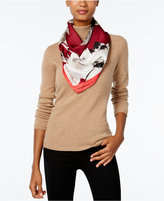 Vince Camuto Floating Florals Square Scarf