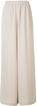 ATM Anthony Thomas Melillo High-Waisted Wide-Leg Trousers