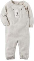 Carter's Baby Boy Little Bear Sweater Jumpsuit