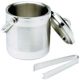 Norpro Double Wall Ice Bucket with Tongs