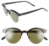 Oliver Peoples Women's Ezelle 51Mm Retro Sunglasses - Black