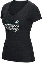 Reebok Women's Dallas Stars Laced Up T-Shirt