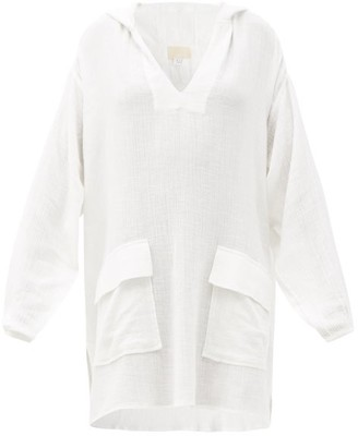 Anaak Sirsa Hooded Cotton-gauze Tunic - White