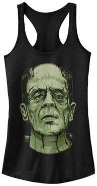 Fifth Sun Universal Monsters Women's Frankenstein Big Face Racerback Tank Top