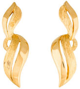 Christian Dior Twist Clip-On Earrings