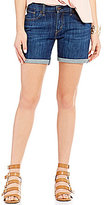 Levi's Boyfriend Stretch Denim Shorts
