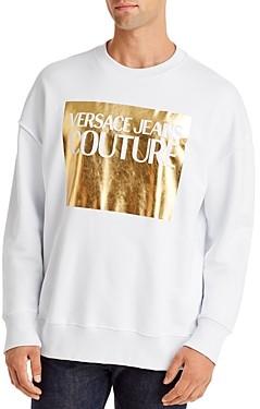 Versace Box Graphic Logo Sweatshirt