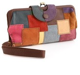 Lucky Brand Jeans Patchwork Clutch