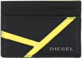 Diesel cardholder wallet - men - Calf Leather/Polyester - One Size