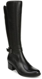 Naturalizer Demetria Wide Calf High Shaft Boots Women's Shoes