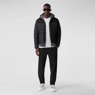 Burberry Logo Applique Lightweight Puffer Jacket