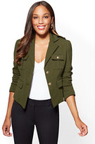 New York & Co. 7th Avenue - Knit Military Jacket