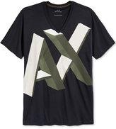 Armani Exchange Men's Word Art Logo T-Shirt