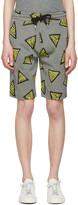 Kenzo Yellow Bermudas Tech Lounge Shorts