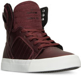 Supra Boys' Skytop Metallic High-Top Casual Sneakers from Finish Line