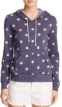 Alternative Athletics Star Print Hooded Sweatshirt