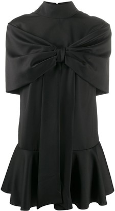 Atu Body Couture Tie Front Party Dress