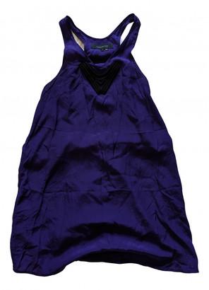 Alexander Wang Purple Silk Dresses
