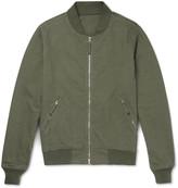 Aspesi Cotton-Jersey Bomber Jacket