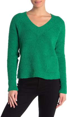 525 America Plush V-Neck Pullover Sweater