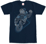 Fifth Sun Men's Tee Shirts NAVY - Navy Iron Man Strings Tee - Men