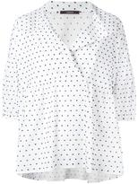 Odeeh polka dot blouse