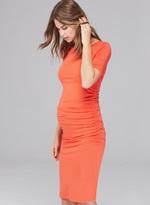Isabella Oliver Ruched T Shirt Maternity Dress