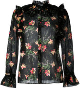 Vilshenko Flower Cloud blouse - women - Cotton/Silk - 8