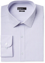 Bar III Men's Slim-Fit Lavender Sateen Check Dress Shirt, Only at Macy's