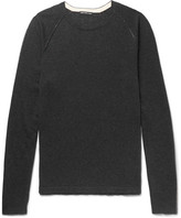 James Perse - Slim-fit Cotton, Cashmere And Wool-blend Sweater