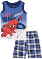 Children's Apparel Network Spider-Man 'Wall Crawler' Tank & Shorts - Toddler & Boys