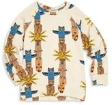 Mini Rodini Little Boy's & Boy's Animal Printed Organic Cotton Blend T-Shirt