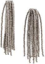 Brunello Cucinelli beaded tassel earrings