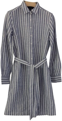 Brooks Brothers Blue Linen Dress for Women