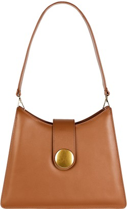 Elleme Cat Volcano Leather Shoulder Bag