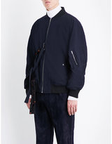 Damir Doma Oversized cotton and wool-blend twill jacket