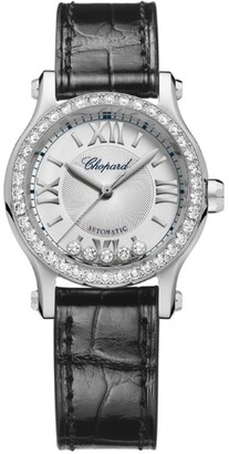 Chopard Stainless Steel Happy Sport Automatic Watch 30mm