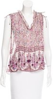 Zadig & Voltaire Embellished Sleeveless Top