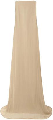Ann Demeulemeester Silk-crepon Gown