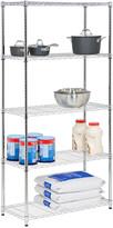 Honey-Can-Do 5-Tier Chrome Storage Shelves