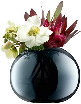 LSA International Epoque Vase Round - Sapphire - 13.5cm