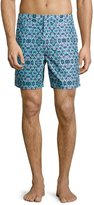 Robert Graham Storm Classic Fit Swim Trunks, Multi Print