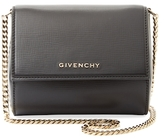 Givenchy Pandora Box Mini Leather Chain Shoulder Bag