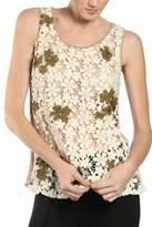 A'reve Flower Lace Top