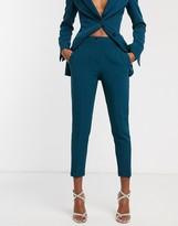 Asos DESIGN pop slim suit pants in teal