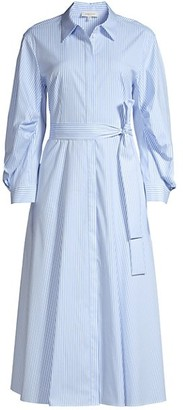 Lafayette 148 New York Cailyn Stripe Shirtdress