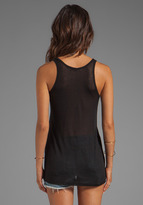 Kain Label Sheer Jersey Classic Pocket Tank