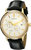 Jacques Lemans Men's N-210B Classic Analog Display Japanese Automatic Black Watch